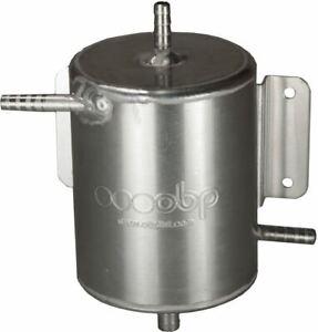 OBP 1 Ltr Alloy Fuel Swirl Pot 135mm (H) x 100mm (Dia) Bulkhead Mount (OBPA023)