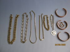 """1960's """"Bling"""" mixed lot of various jewellery items"""