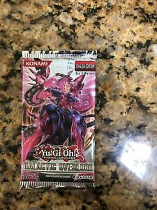 YuGiOh! Galactic Overlord 1st Edition New and Sealed YuGiOh Booster Pack