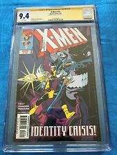 X-Men #73 - Marvel - CGC SS 9.4 NM - Signed by Joe Kelly