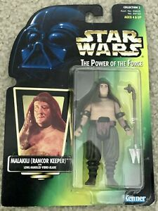 Kenner Star Wars Power Of The Force Malakili Rancor Keeper Action Figure MIP