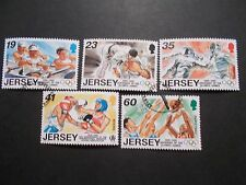 Jersey 1996 Commemorative Stamps~Olympic Sports~Very Fine Used Set~UK Seller