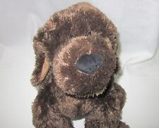"Circo Dark Chocolate Brown Puppy Dog Large Plush Soft Toy Stuffed 2012 33"""