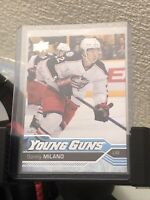 2016/17 UPPER DECK SERIES 1 YOUNG GUNS ROOKIE SONNY MILANO #228 FREE SHIPPING