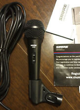 Shure Professional Microphone C608 - Brand New Unused Holder, Cord, and Adapter