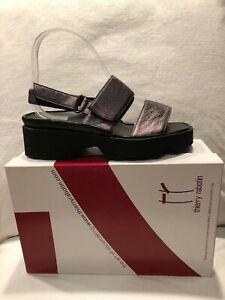 Thierry Rabotin Barton Umbra Grey Comfort Sandal Women's Sizes 36-42/6-12/NEW!