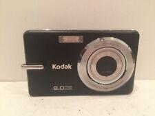Kodak EasyShare M873 8MP Digital Camera Black TESTED EUC