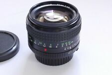 Minolta 50mm f1.2 MD Rokkor manual focus MD mount lens + makers caps