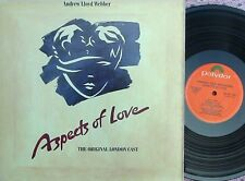 Aspects of love Andrew Lloyd Webber ORIG London Cast US 2LP '89 Michael Ball