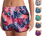 Comfort Fit Women's UPF 50+ Quick Dry Active Swim Shorts