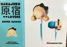 MONSTER Gwen Stefani HARAJUKU LOVERS in-ear Cuffie-Super Kawaii