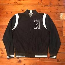 Nike Dark Blue Navy Varsity Letterman Jacket Medium M Tracksuit Top Coat