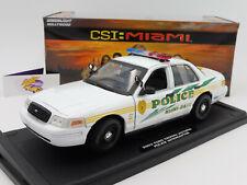 """Greenlight 13514 # FORD Crown Victoria """" MIAMI Police - CSI Miami """" 1:18 NEU"""