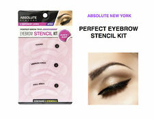 ABSOLUTE NEW YORK PRFECT BROW TRIO EYEBROW STENCIL KIT 3 DIFFERENT LOOKS NF058