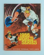 1966 World Series Game Program Dodgers vs Orioles FLASH SALE - 1 Day only