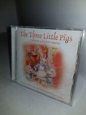 Neuf CD 6 Enfants Stories Petit Pigs Robin Capuche Jack Beanstalk Rouge Vélo A33