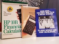 Vintage HP 10B Business Calculator Hewlett Packard