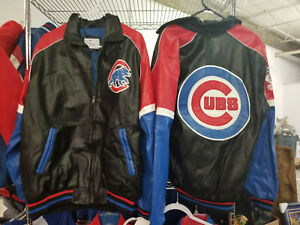 Chicago Cubs Leather Jacket NEW