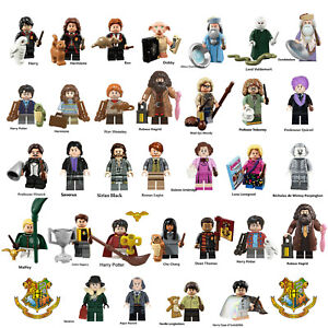 Figurine Lego Harry Potter Custom Minifigure: Dobby Hagrid Dumbledore Sirius...