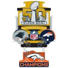 Denver Broncos Super Bowl 50 Champions Collector Lapel Pin
