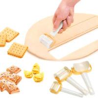 3Pcs/Set Dumpling Wrapper Dough Pastry Roller Durable Kitchen Cookies Cutter