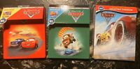 Disney Cars 1-3 Set Limited-Edition Collectible Steelbooks w/4k Disc or BluRay
