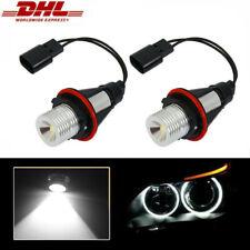 ►2X BMW 6er E63,E64//7er E65 E66 X5 E39 ANGELEYE Standlichtringe CREE LED 5W 8000