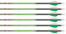 "2596 T1314 Carbon Express Piledriver Hunter 250 Carbon Arrows w/2"" Vanes 1/2 Dz"