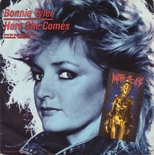 """Bonnie Tyler 7"""" Here She Comes - Europe"""