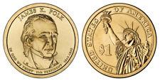 "James Polk President Dollar Coin ""D"" Mint New 2009"