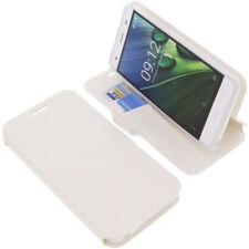 Tasche für Acer Liquid Z6E Book-Style Schutz Hülle Handytasche Buch Weiß