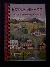 Extra Sharp 50th Anniversary Edition Cookbook, Sharp United Methodist Church GA