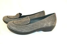 New Women's Gray Black DANKSO Houndstooth Loafers Shoes sz.40 (9.5-10)