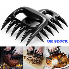 2pcs of Bear Meat Forks Paws Claw Meat Handler For Turkey Chicken Lamb Joints UK