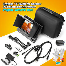 "Feelworld 7"" Pro-Broadcast Video Field Monitor 3G-SDI +15mm Rod Clamp for BMCC"