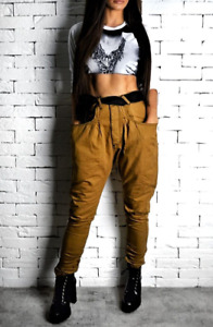High Waisted Tan Jeans 28 ALEX CHRISTOPHER RRP £75 VIVIENNE WESTWOOD STYLE BNWT