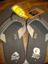 Reef Men's Quencha TQT Flip Flop Sandals Brown Bottle Opener NEW SIZE 9