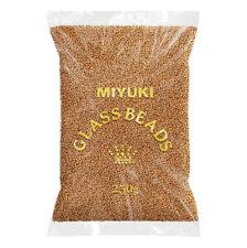 Wholesale Miyuki 11 Duracoat Galvanised Matt Yellow Gold 11-4203F 250g (N71/1)