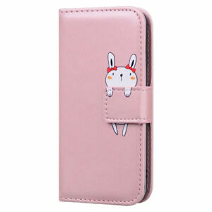 Animal Leather Wallet Flip Stand Case Cover For Samsung Galaxy A02S A12 A32 A52