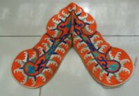 Chinese Old Hand Embroidery Silk Shawl