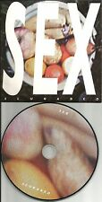 SLUGABED Sex 2 REMIXES & UNRELEASE TRK Europe made PROMO DJ CD single USA Seller