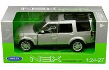 Welly 1/24 ,Land Rover Discovery 4 - Silver, Classic Metal Model Car