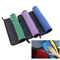 Absorbent Microfiber Towel Car Clean Drying Cloth Kitchen Washing Cloth 30*60cm.