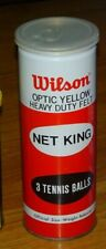 Vintage Wilson Net King 3 tennis balls sealed can, rare, collectable, Korea