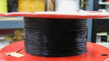 25 feet stranded 28 AWG Silver Plated PTFE Wire Black 7 strands SPC