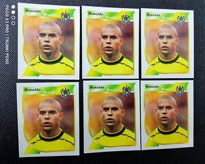 Ronaldo Nazario 2001 Sticker Navarrete Copa América  📈Brazil  RC  #58🔥 (Lot 6)