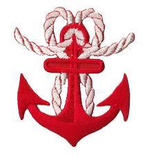 Patch écusson patche Ancre marine Marin bateau mer insigne transfert brodé