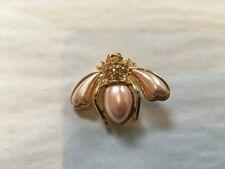 Joan Rivers Pink Bee Pin