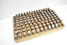 """Pin Gage Set .627""""- .748"""" Precision Measurement Inspection Tooling for Spares"""