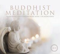 BUDDHIST MEDITATION  2 CD NEW!